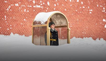 ¡SORPRENDENTE!Las Nevadas En Moscú Se Convierten En Unas De Las Más Fuertes En La Historia