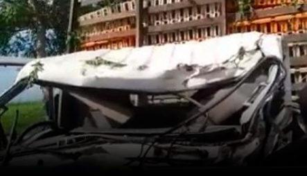 """Un Camión """"Timbí"""" De Pollo Involucrado En Lamentable Accidente En San Pedro De Macorís"""