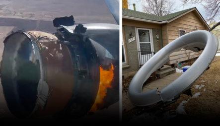 Aterrador Momento Vivieron Los Pasajeros Y Residentes Tras Explotar Motor De Avión En Pleno Vuelo