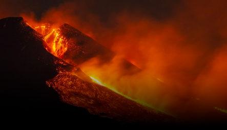 La Impresionante Erupción Del Volcán Etna Que Sorprendió A Los Propios Vulcanólogos