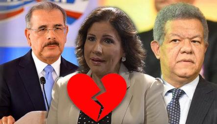 Margarita Cedeño Dice Que Su Corazón Esta Dividido Entre Danilo Y Leonel
