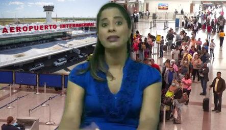 """Addis Burgos: """"Sería Inmanejable Que Se Permita El Ingreso De Personas Abiertamente Por Aeropuertos"""""""