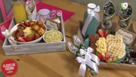 Preparamos Una Canasta Personalizada Con Basket By Marce En Clases De Cocina