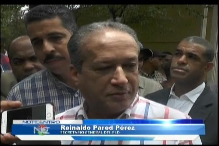 Reinaldo Pared Pérez Dice Reelección No Está En Agenda