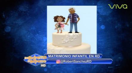Robert Sánchez Comenta Sobre El Matrimonio Infantil En República Dominicana