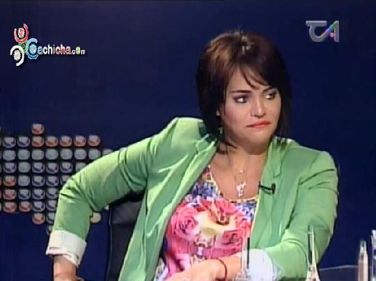 """Sabrina Gómez: """"En La TV Dominicana Todo Se Ha Vuelto Una Grillería Y Una Vaina"""" #Video"""