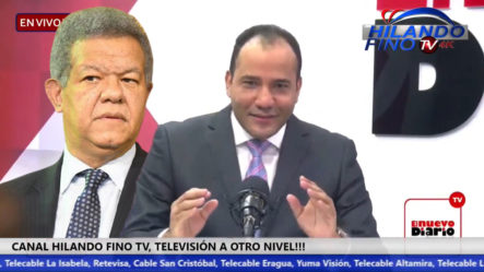 Salvador Holguín Amenaza De Mala Manera A Leonel Fernández