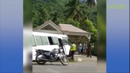 10 Personas Resultaron Heridas La Tarde Del Pasado Domingo En Un Accidente De Tránsito En La Carretera Sánchez A Samaná