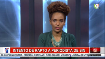 Periodista De Grupo SIN Scarlet Hernández Narra El Amargo Momento Que Vivió Cuando Intentaron Raptarla