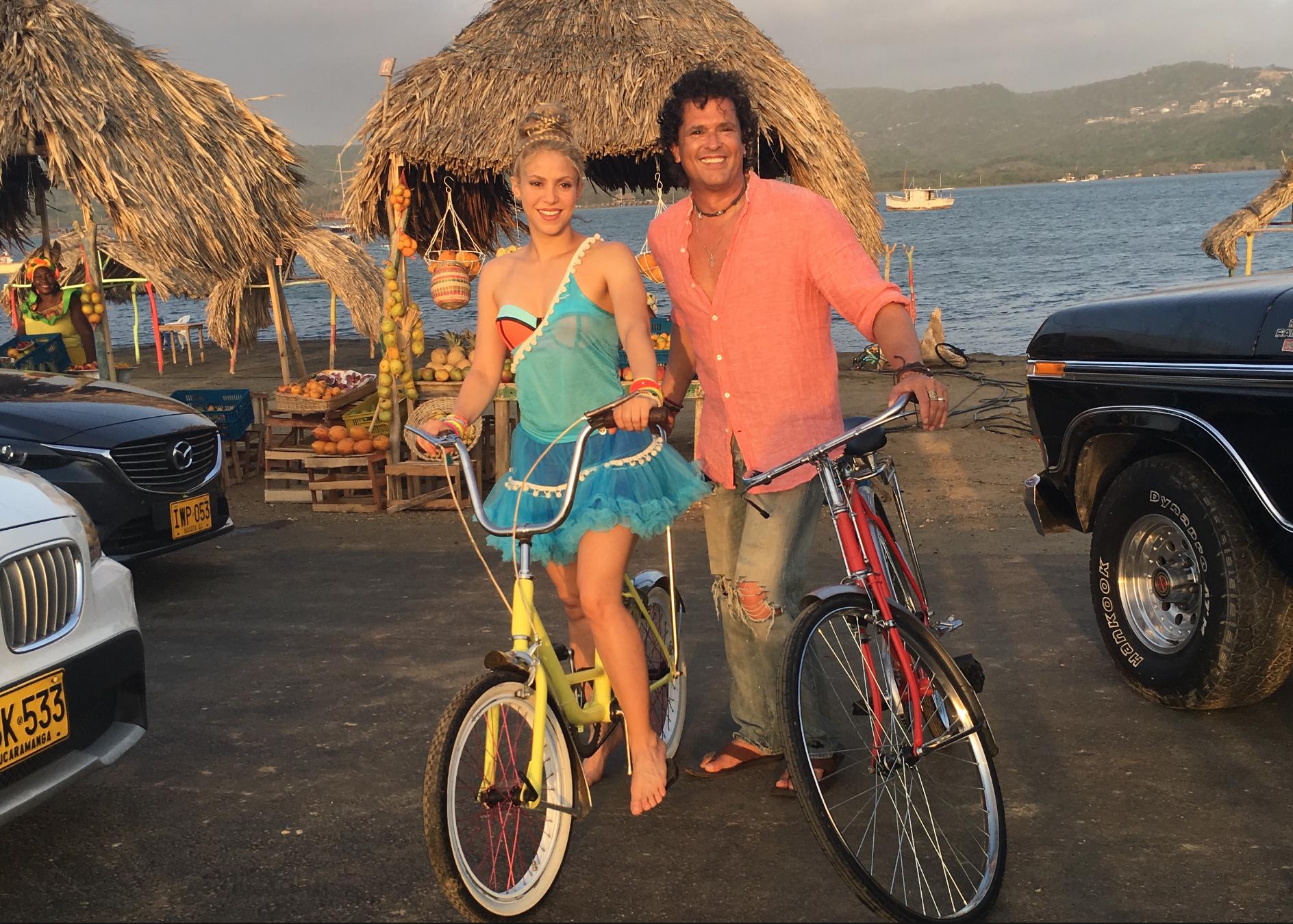 Carlos Vives Y Shakira Lanzan Un Video En Instagram Para Promocionar El Nuevo Videoclip