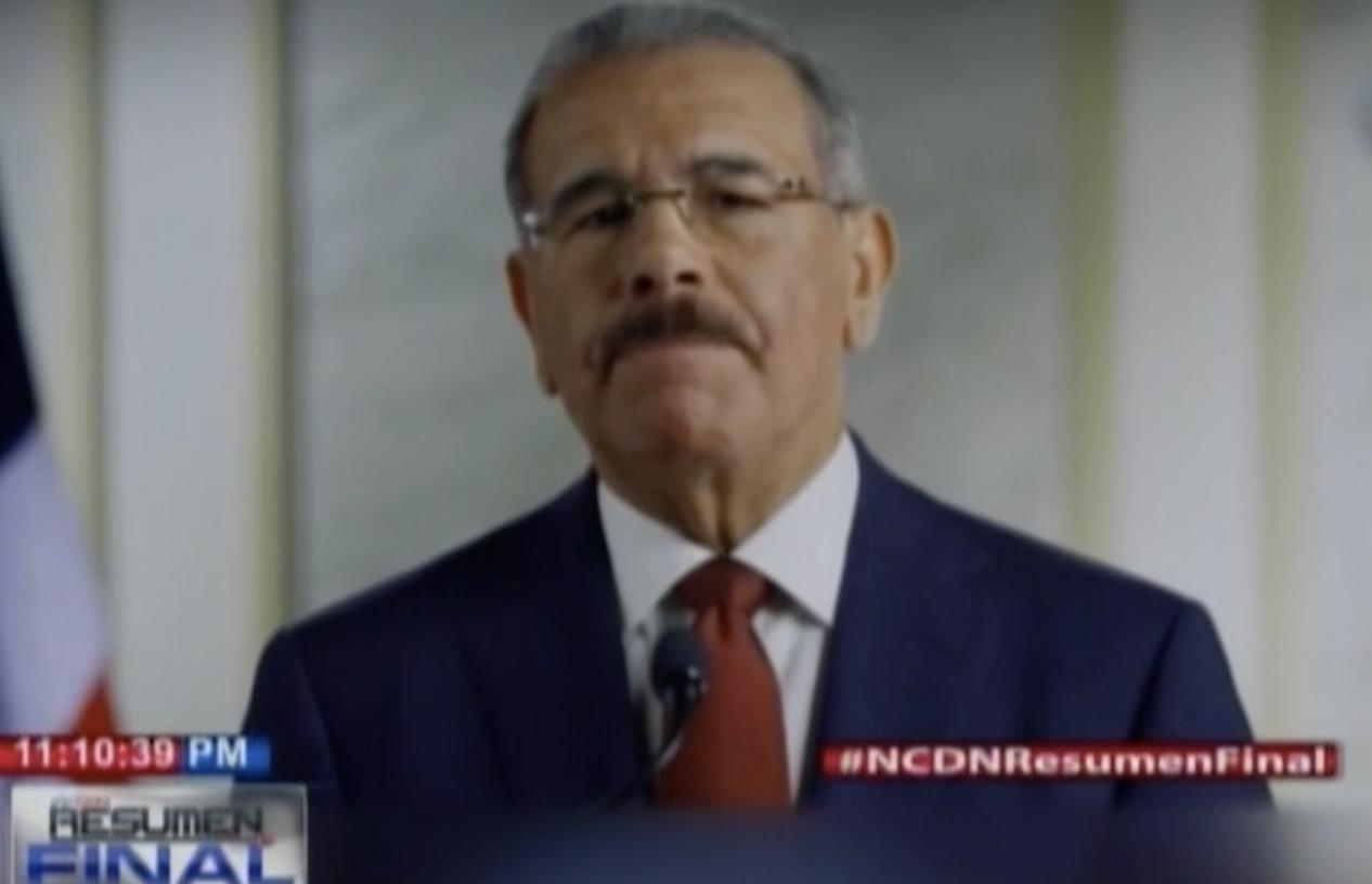 Danilo Medina Te Desea Un Año Lleno De Esperanza Y Confianza, Además Asegura Que Va A Trabajar Por Todos Los Dominicanos