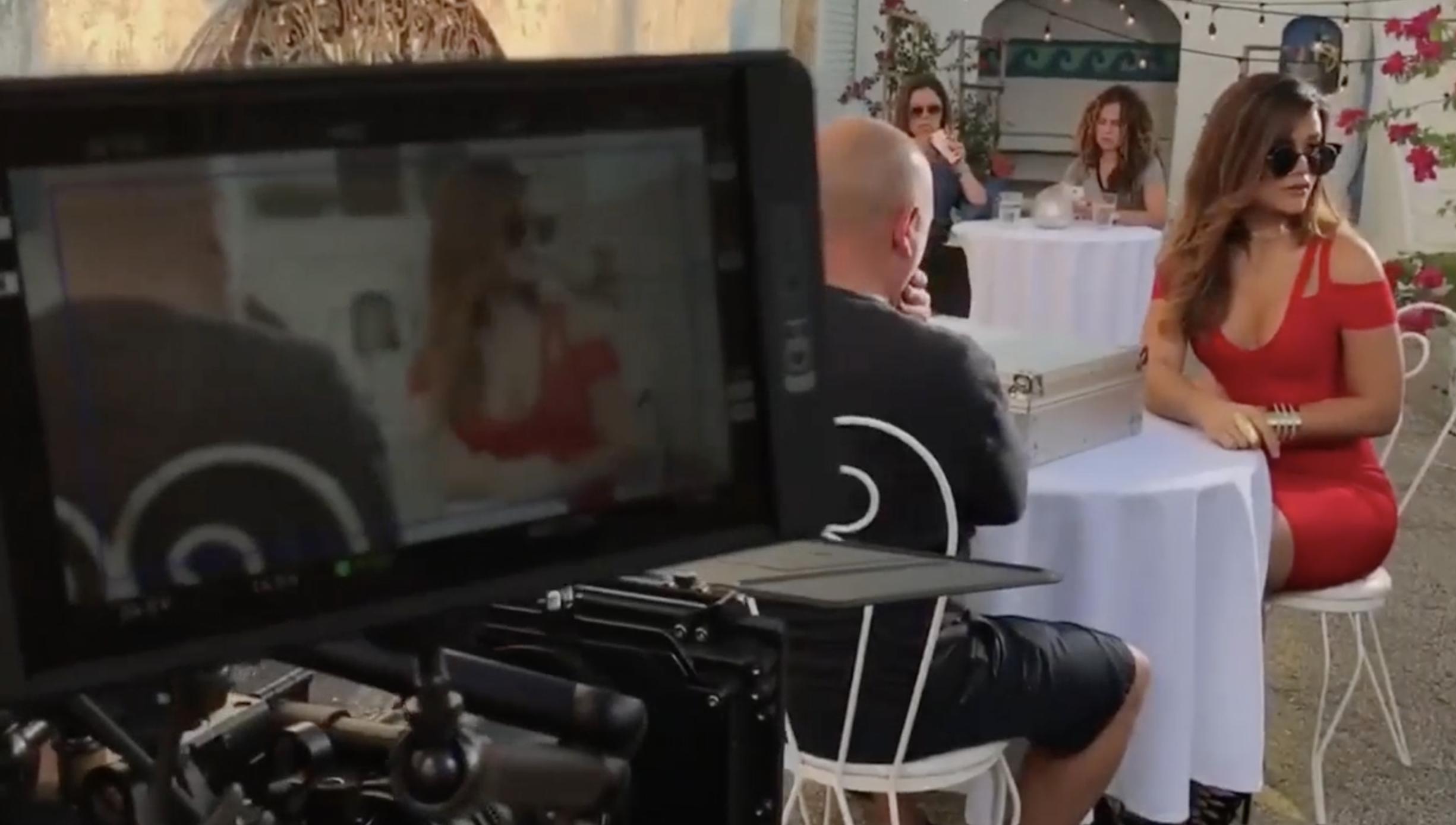 Mira Parte Del Detrás De Cámara De Las Escenas Grabadas Por Clarissa Molina Para La Promoción La Película XXX