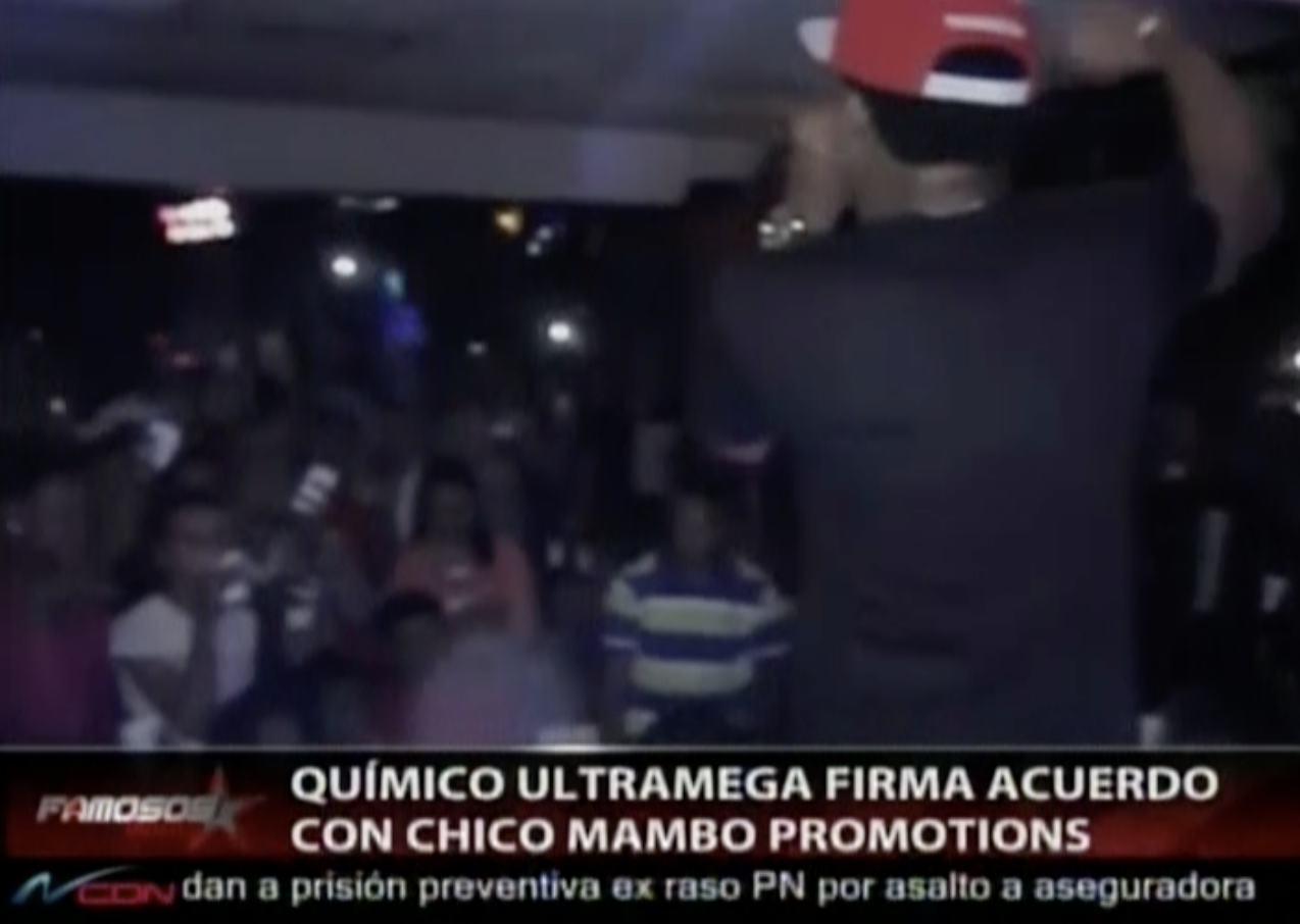 Quimico Ultramega Firma Acuerdo Con Chico Mambo