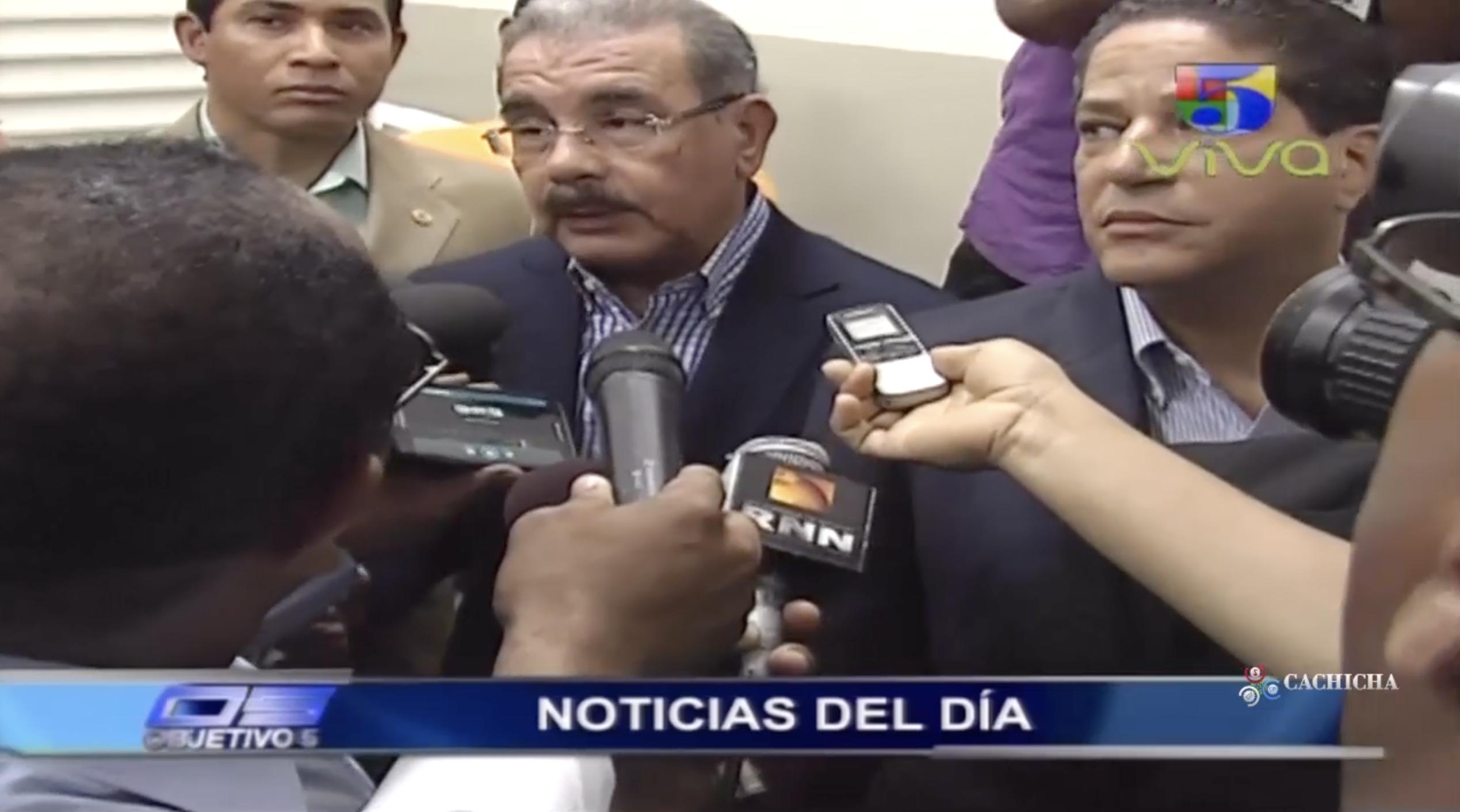 Objetivo 5: Este Fue El Mensaje De Danilo Medina Para El 2018 Para Todos Los Dominicanos