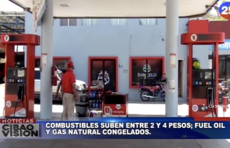 Vuelven A Subir Los Precios De Los Combustibles