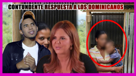 """La Contundente Respuesta De María Celeste A Los Dominicanos Ofendidos Por La Palabra """"LETRINA""""  -Cachi News"""