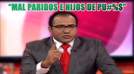 """Salvador Holguín No Aguanta Más  Y Llama """"HIJOS DE PT%@$"""" A Los Traicioneros"""