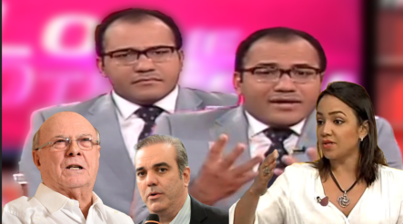 Salvador Holguín Arremete Contra Hipólito Mejía Y Luis Abinader, Por No Hacer Oposición Como Faride Raful