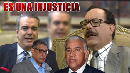Luis Abinader Considera Que Es Una Injusticia Lo Que Se Hizo Con Adrés Bautista Y Chú Vásquez