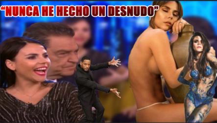 """""""Yo Nunca He Hecho Un Desnudo"""" Don Francisco Te Invita: Entrevista A Carolina Gaitán (Sin Senos Si Hay Paraíso)"""