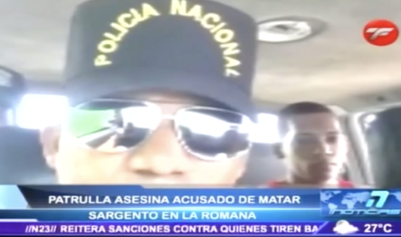 """""""En Un Intercambio De Disparos"""" Policía Asesina A Delincuente Que Había Matado A Oficial"""