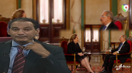 José Laluz Comenta Sobre La Entrevista De Jatnna Tavárez  A Danilo Medina