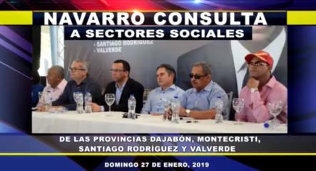 ANDRÉS NAVARRO CONTINUA CONSULTAS CON SECTORES PRODUCTIVOS Y SOCIALES PARA CONSTRUCCION PROYECTO DE NACION