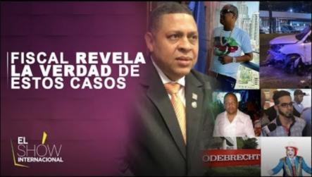 El Fiscal De Santiago Revela La Verdad De Estos Casos | El Show Internacional
