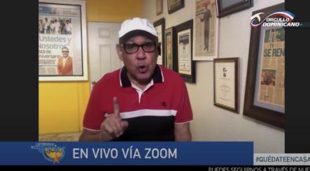 José Fabián Hace Llamado A La Población Ante Incremento Casos Coronavirus