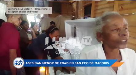 Ciudadana Indigna Con El General De SFM Por Bala Perdida Le Quitó La Vida A Su Menor