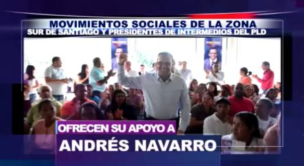 El Proyecto De Andrés Navarro Sigue Concitando Apoyo En Todo El País