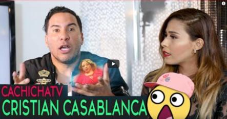 TBT: Exclusiva: Cristian Casablanca Revela Lo Que Todos Querían Saber; Descúbrelo En CachichaTV