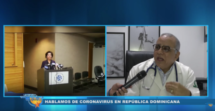 Hablando Sobre El Coronavirus En RD Con El Dr. Plutarco Arias