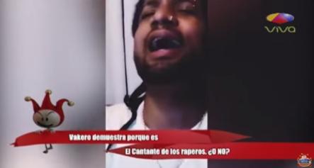 Vakero Demuestra Porque Es El Cantante De Los Raperos