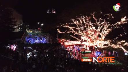 El Encendido De La Casita De Navidad Del Ayuntamiento De Santiago