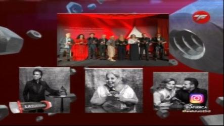 El Puma, Duo Pimpinela Y Lupita Dalessio Reciben El Reconocimiento A Su Trayectoria Por Latin Grammys