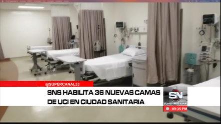Servicio Nacional De Salud Habilita 36 Nuevas Camas Para UCI En Ciudad Sanitaria Luis Eduardo Aybar