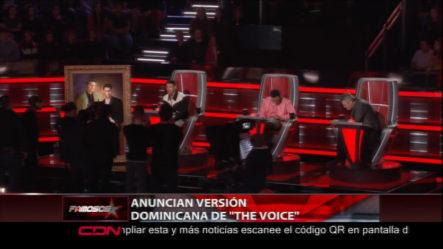 """El Reality """"The Voice"""" Tendrá Una Versión Dominicana"""