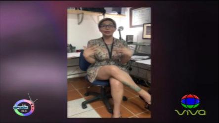 El FongoTV Enciende El Estudio Con El Tema David Ortiz Y La Respuesta De Mia Cepeda