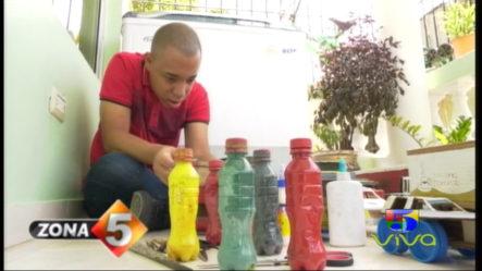 El Increíble Talento De Un Joven Autista Al Crear Modelos De Vehículos De Cartón Y Material Reciclado