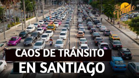 El Gran Caos De Tránsito En Santiago | Tu Tarde