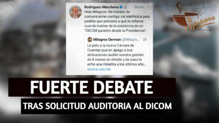 Fuerte Debate Tras Milagros Germán Solicitar Auditoria Al DICOM | Tu Mañana