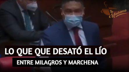 El Video Que Desató La Controversia Entre Milagros Y Marchena  | Tu Mañana