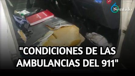 Empleados De La Cruz Roja Se Quejan Por Falta De Vehículos | 6to Sentido