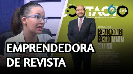 Entrevista A La Vicepresidenta De La Revista Contacto | 6to Sentido
