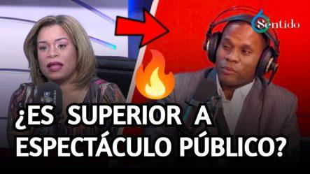 Ramón Tolentino Superior A Espectáculo Público | 6to Sentido