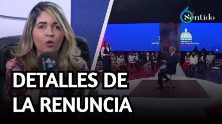 Nilda Alaniz Habla Sobre La Renuncia En Comunicaciones A La Alcaldía SDE | 6to Sentido
