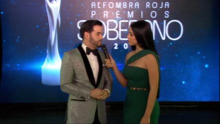Conversando Con Manny Cruz En El Pre Show De Premios Soberano 2019