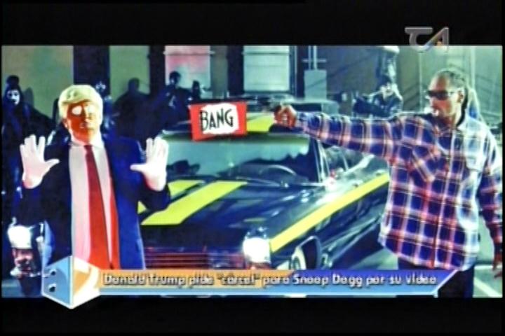 A 2 Cámaras: Trump Pide Cárcel Para Snoop Dogg