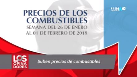 Suben Nuevamente El Precio De Los Combustibles En La República Dominicana
